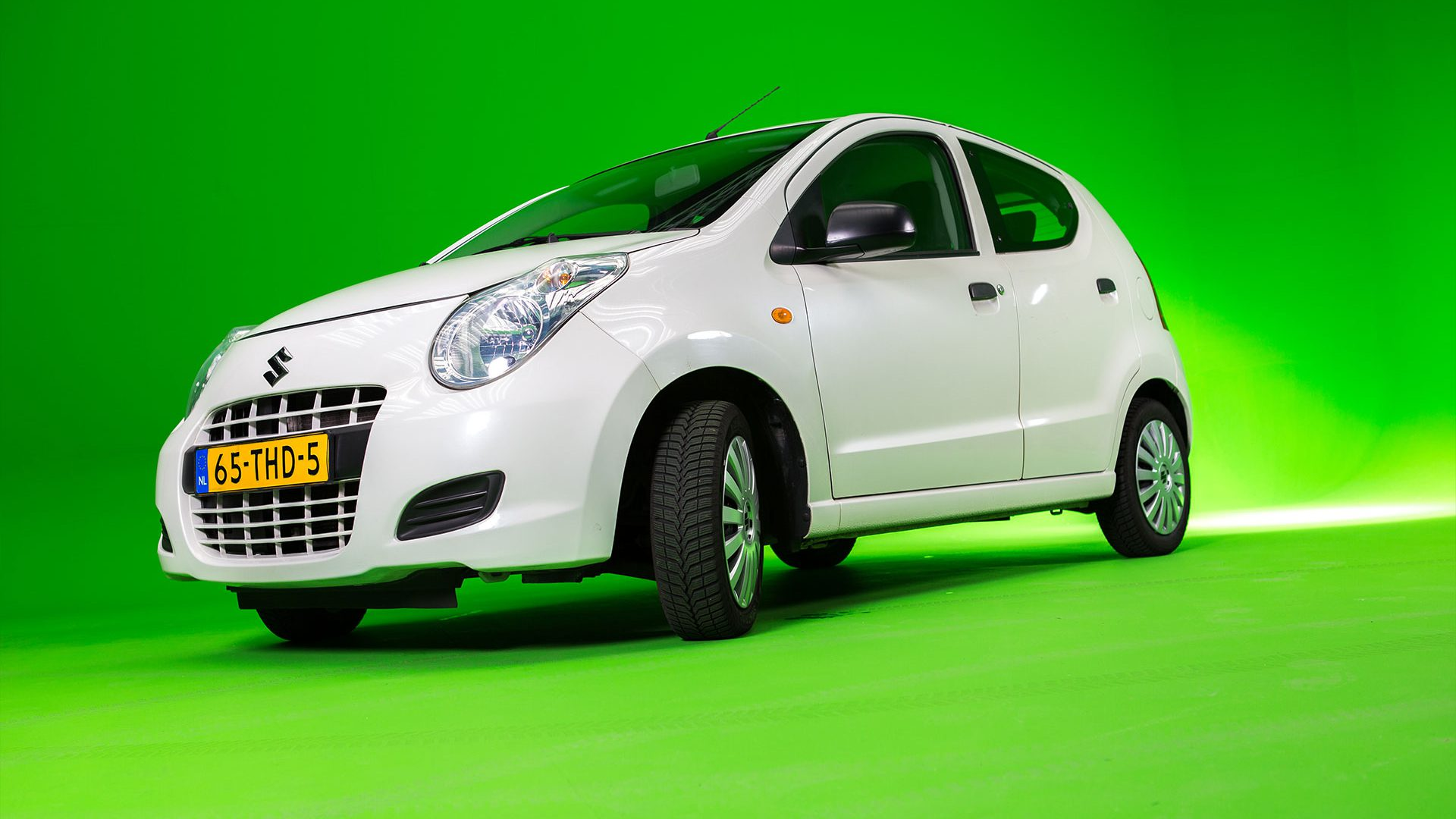 Suzuki Alto greenscreen